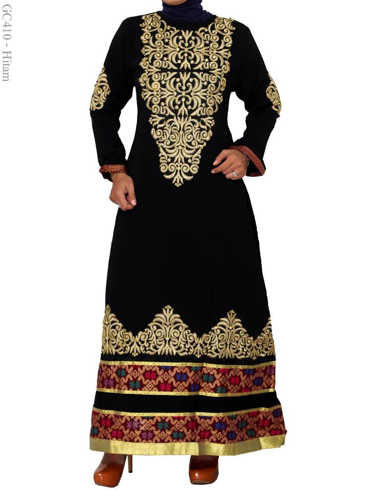 Gamis Arab Cantik Gc410 Busana Muslim Murah Terbaru