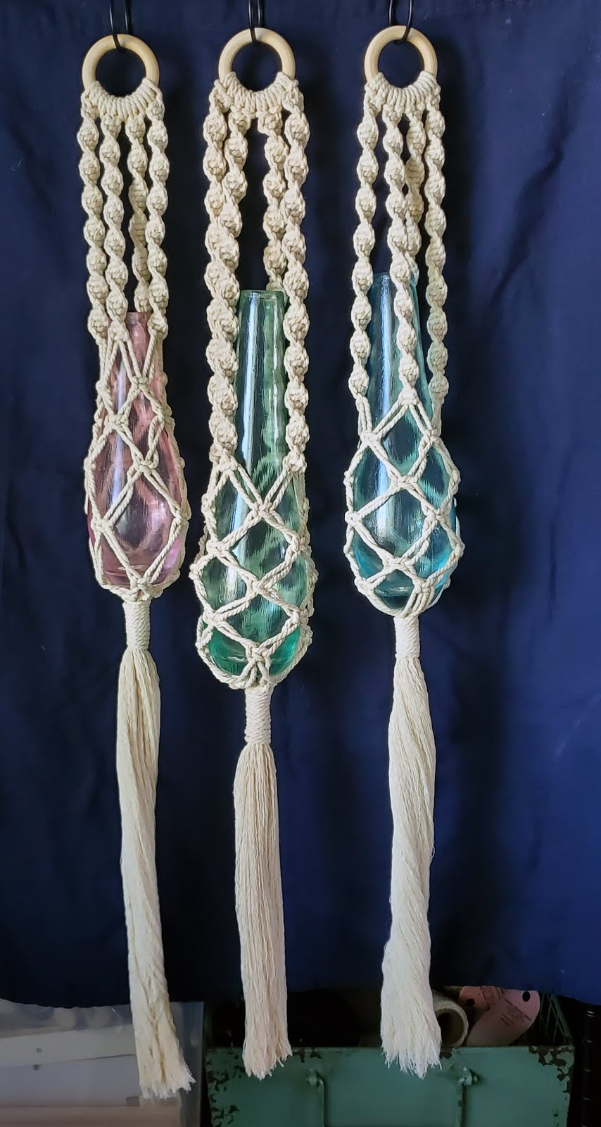 Brady Girls Macrame by Julie Ferguson $25