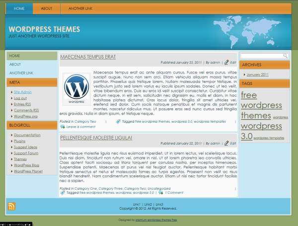 wordpress themes free download wordpress themes for blogs business ...