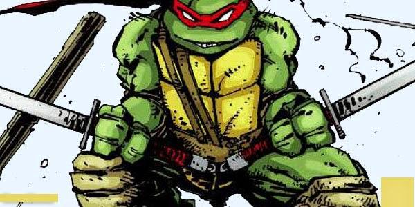 el comienzo de las tortugas ninja