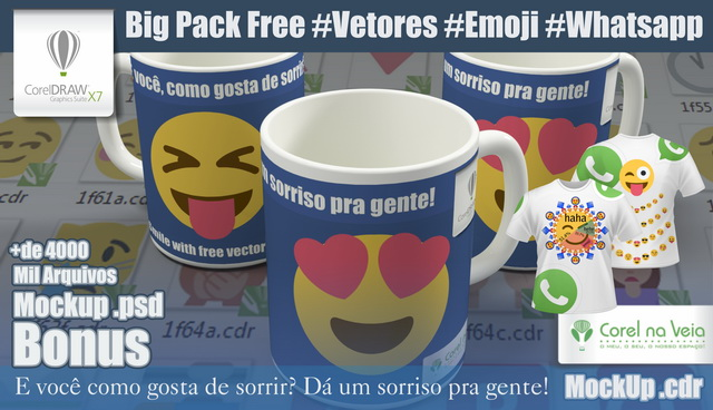 Big Pack Vectors Emoji Whatsapp Free