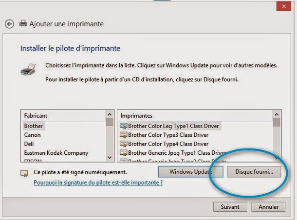 installer une imprimante reseau windows 8.1 richo nasuatech photocopieur c2000 mpc afficio