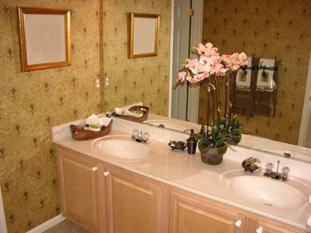 Цветы для ванной с