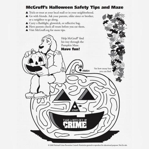 6 Halloween Maze - Easy