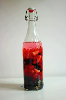 Le Chameau Bleu - Rhum arrangé aux fruits rouges