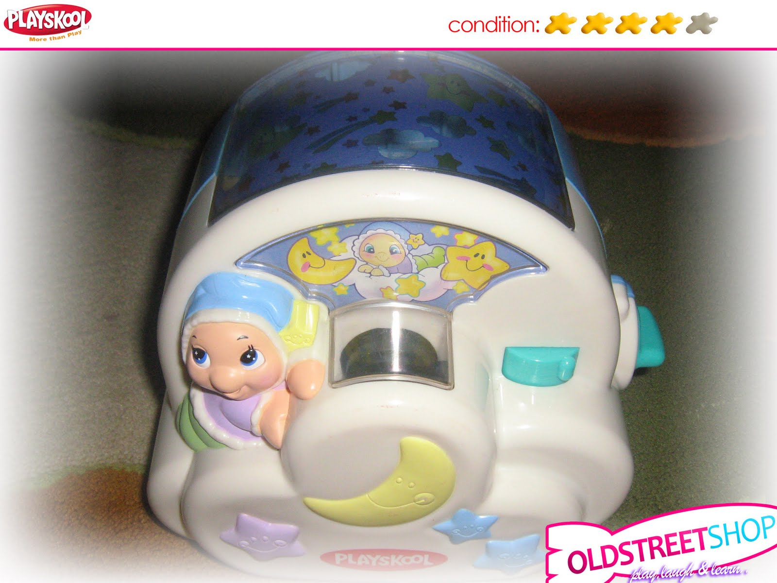Playskool Musical Toys : Oldstreetshop playskool musical gloworm moonbeam