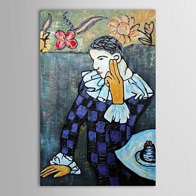 Arlequín Acodado de Pablo Picasso