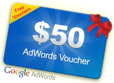 Free $50 AdWords Voucher Coupon Code 2013