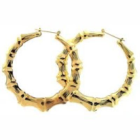 Bamboo Earrings Gold2