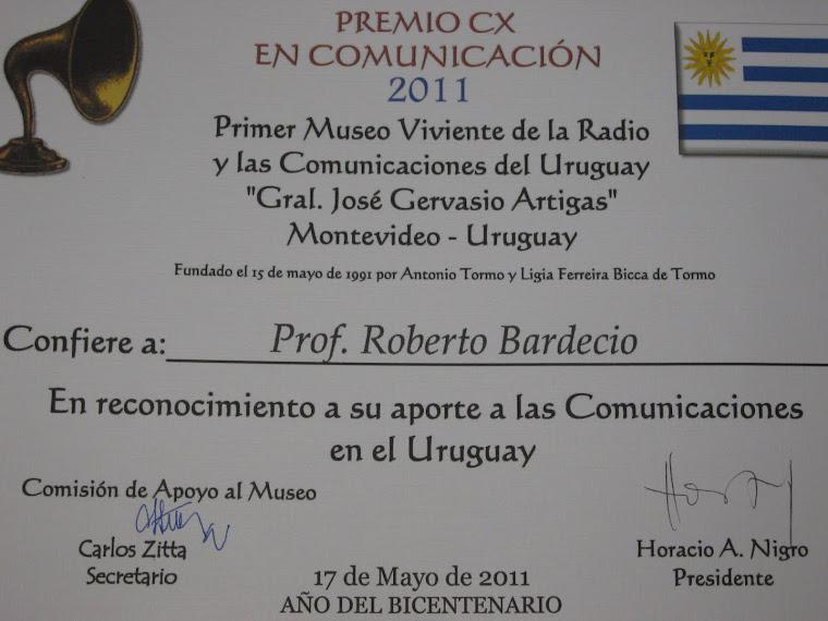Premio CX en Comunicación 2011 - 17 de mayo de 2011 -  Salón de Conferencias del Hotel Radisson