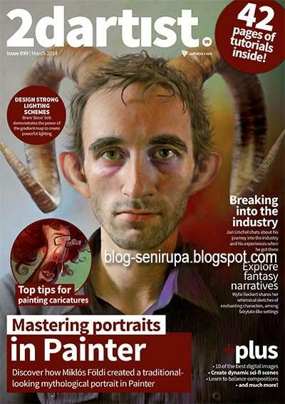 2D Artist Magazine Issue 99 March 2014