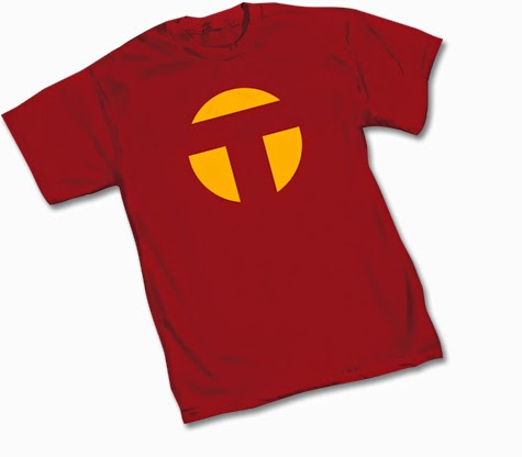 DC Comics Red Tornado Symbol T-Shirt by Graphitti Designs