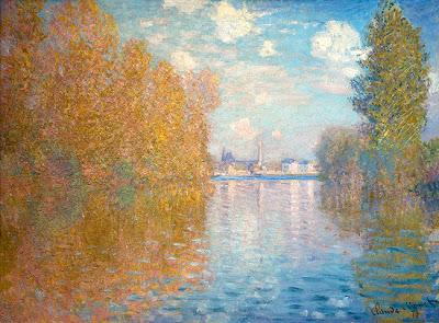 Claude Monet - Effet d'automne à Argenteuil,1873
