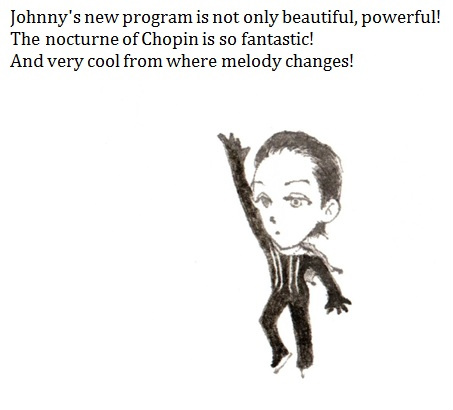 Johnny Weir. Photo © Ayumi S @ Official Johnny Weir Blog.