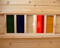 Farblicht für die Sauna