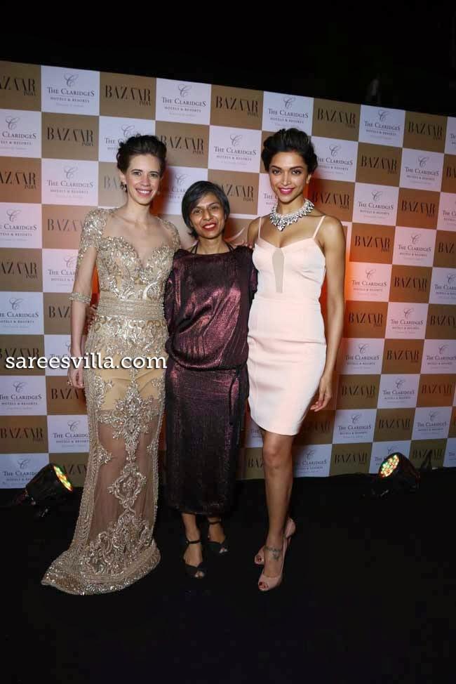 Kalki Koechlin, Nishat Fatima and Deepika Paukone
