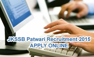 JKSSB Patwari Forest Guard Recruitment 2015 Notification of 2647 Patwari Jobs Apply online at jkssb.nic.in Recruitment Notification 2015, JKSSB Supervisor, Junior Assistant posts Application Form