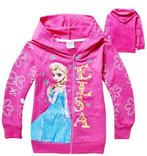 Jaket Anak Perempuan Frozen Model Terbaru