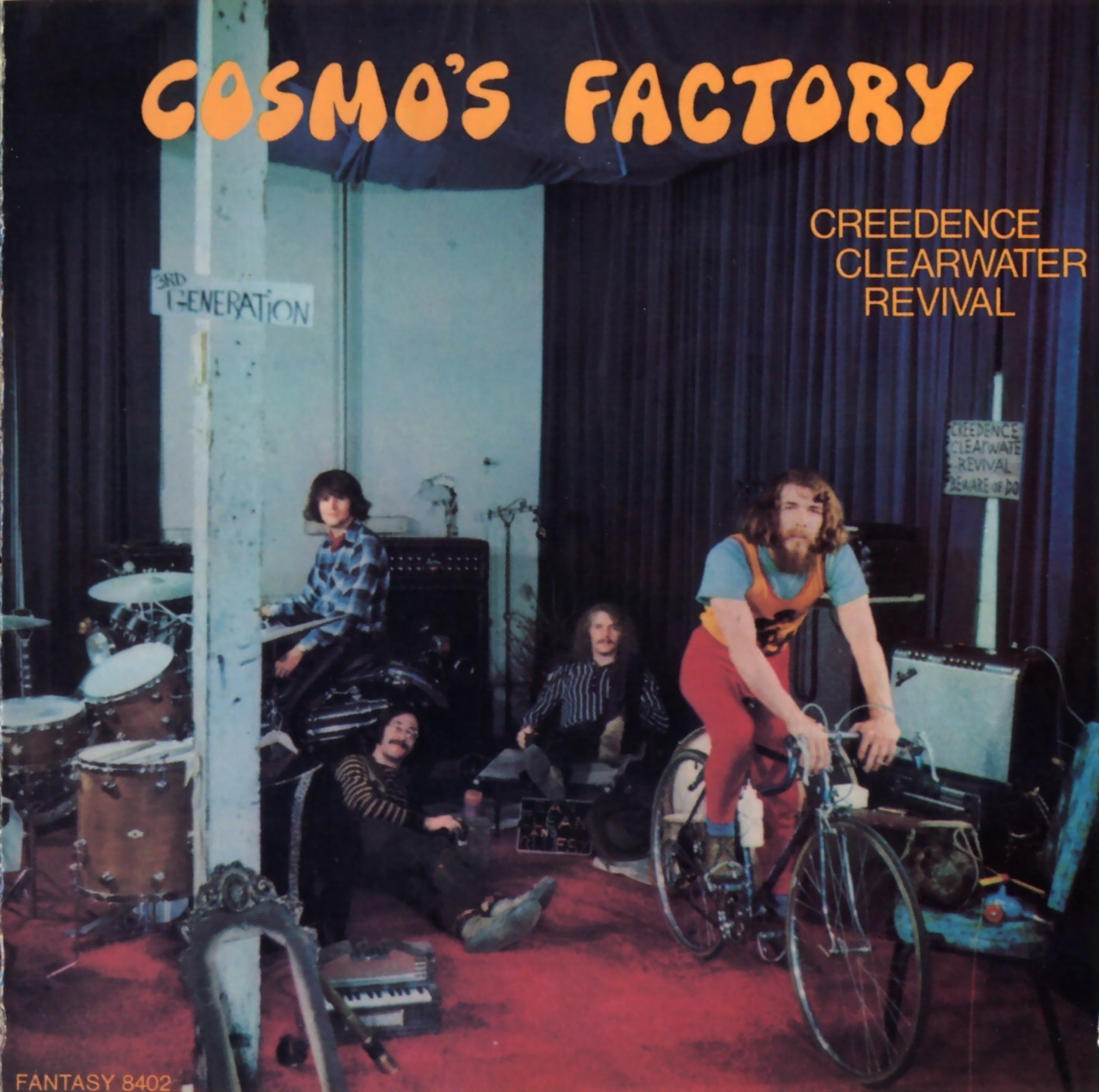 Creedence Clearwater Revival - Bad Moon Rising Over Lodi