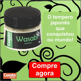 Tempero Wasabi da Cuesta Sabores