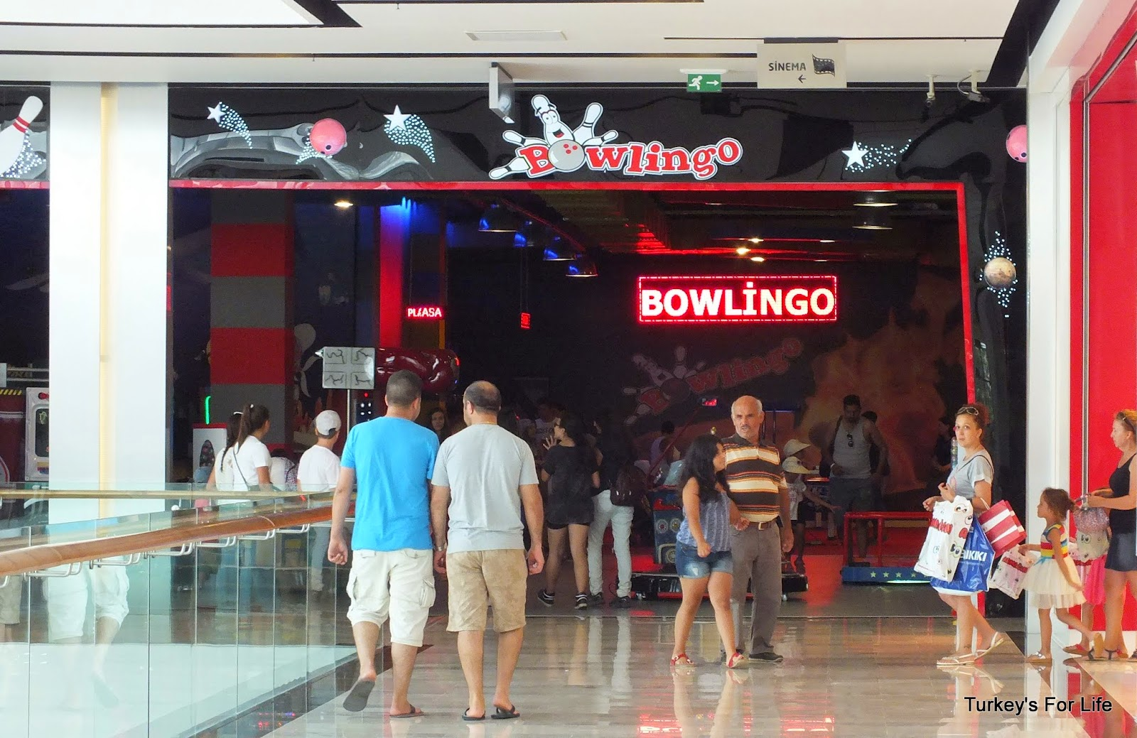 Bowling At Fethiye Shopping Centre