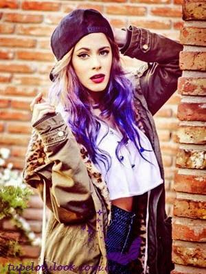 look peinados 2014 violetta tini-stoessel