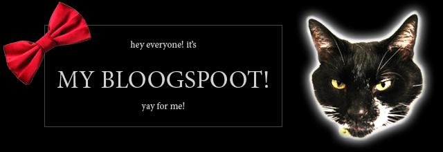 My Bloogspoot!