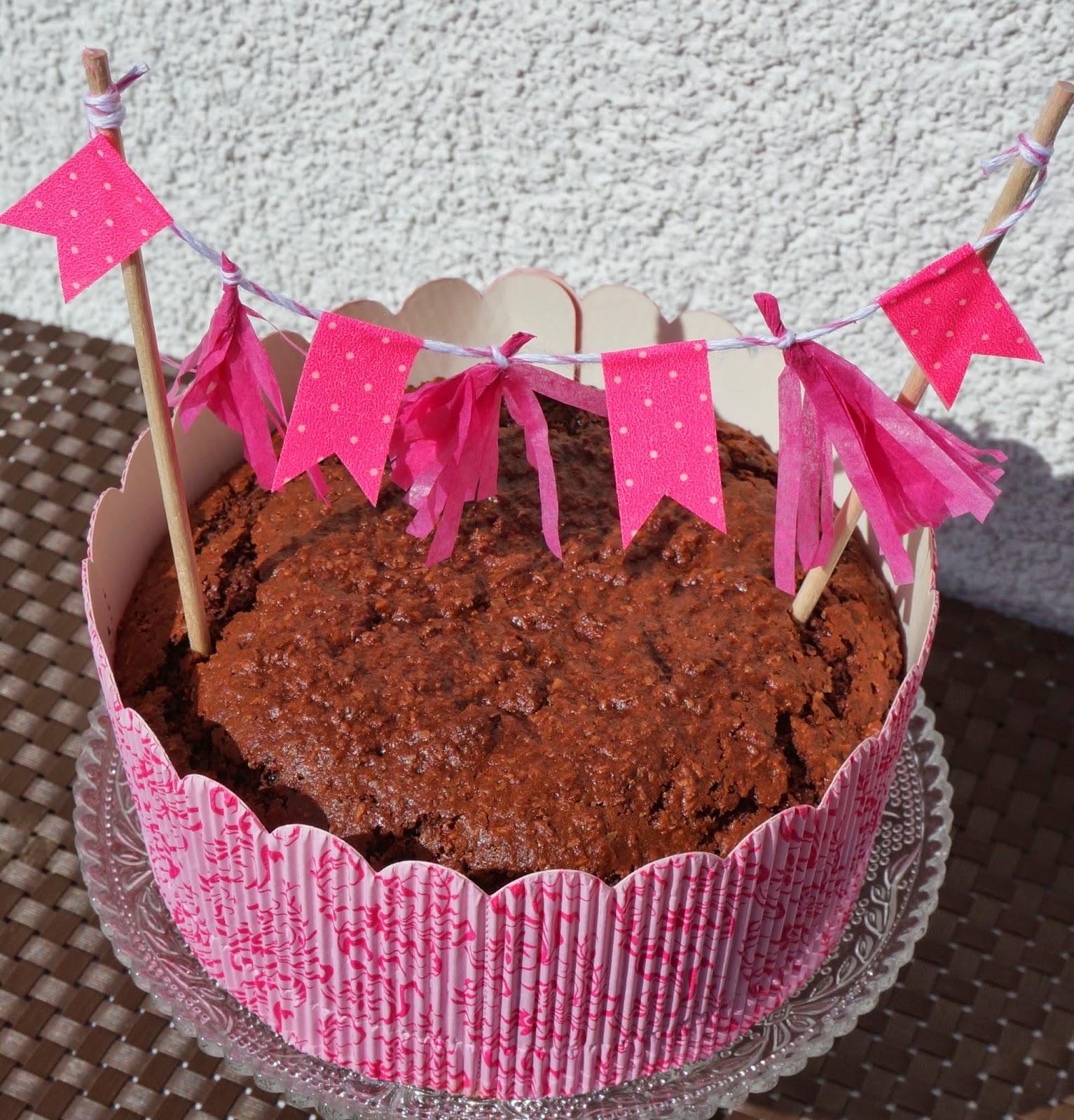 egan Chocolate Cake, Vegan Cake with coconut, veganer Kuchen, vegan Backen, World Baking Day 2014
