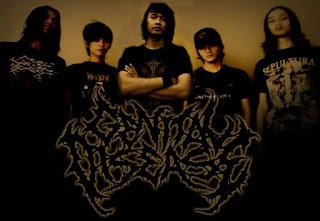 Genital Disease Band Death Metal Tasikmalaya Jawa Barat Indonesia Foto Wallpaper Artwork Cover Album