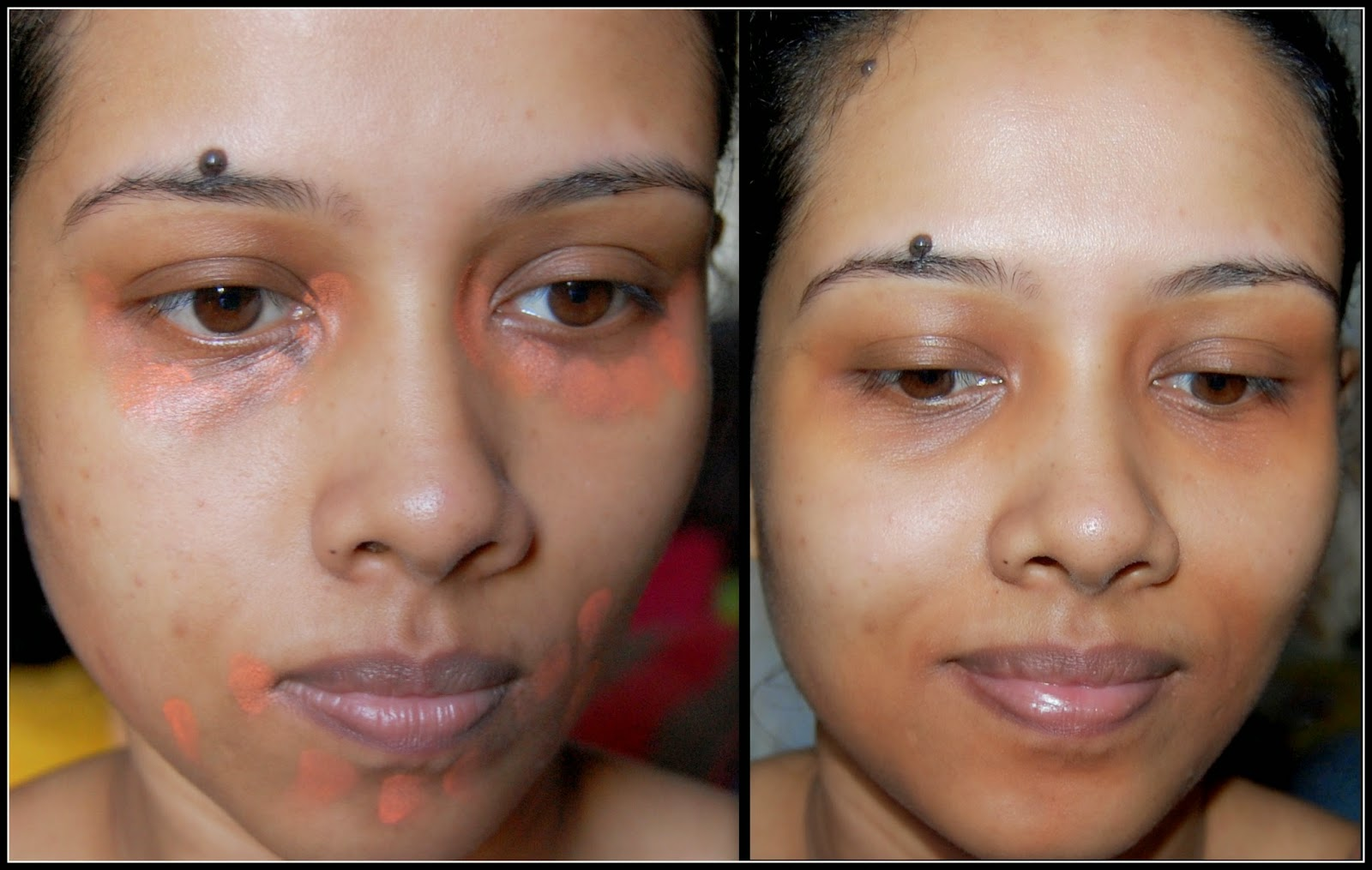 How To Cover Under Eye Circles Colour Correcting With Orange Concealer