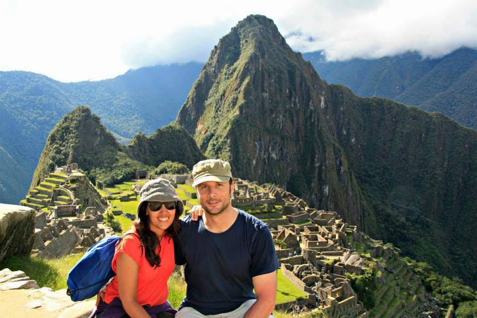 Machu Pichu radiante.