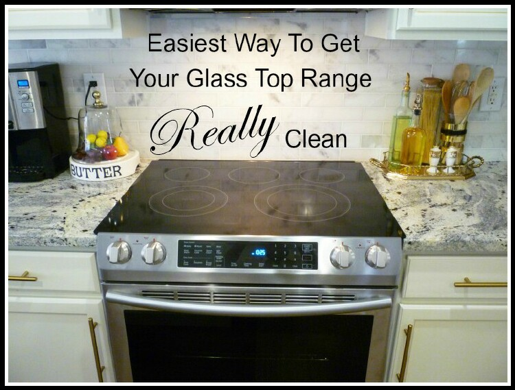 Easiest Way To Get Your Glass Top Range Really Clean