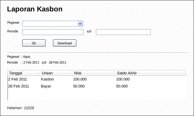 Aplikasi Pengajuan Kasbon (php)