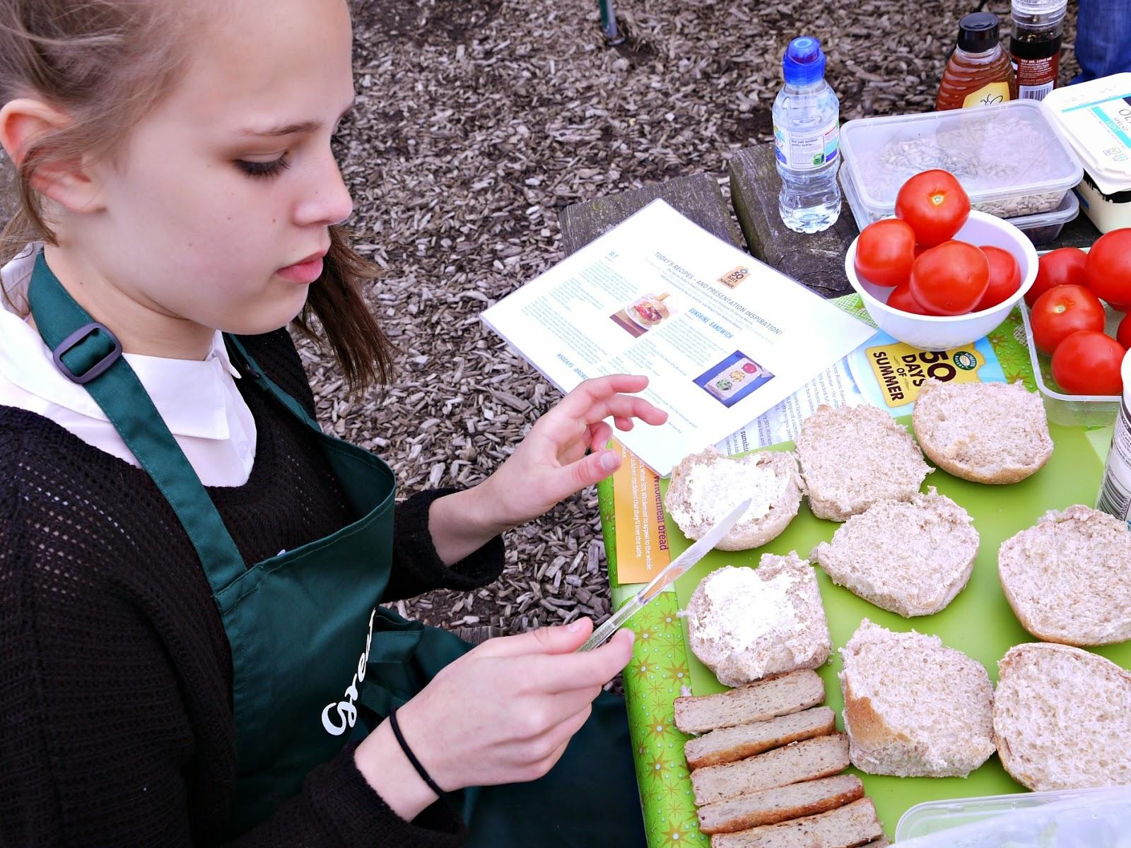 bread, picnic