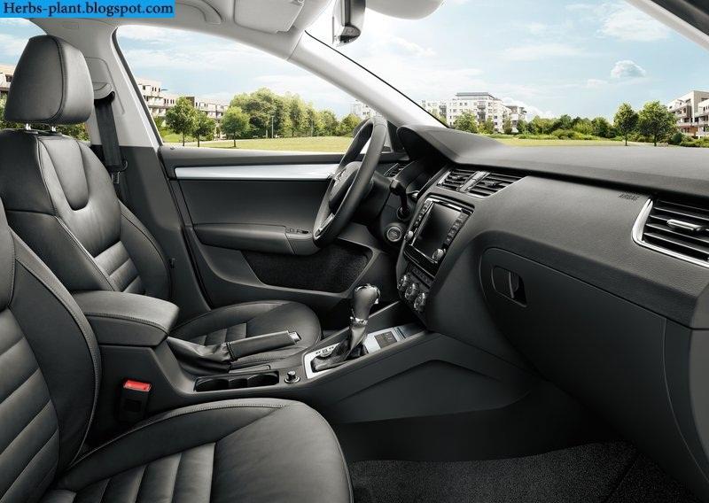 Skoda octavia car 2013 interior - صور سيارة سكودا اوكتافيا 2013 من الداخل