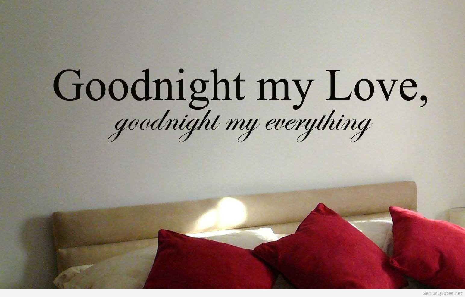 Love Romance Quotes Romantic Good Night Massage With I Love You  Love Romance