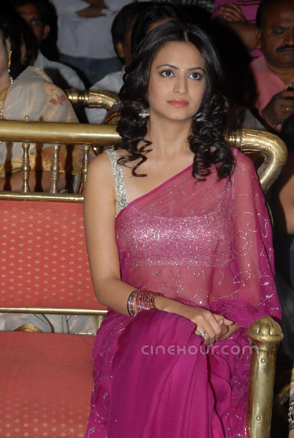 Kriti Kharbanda in Saree1 - Kriti Kharbanda in Saree at Mr Nokia Audio Launch