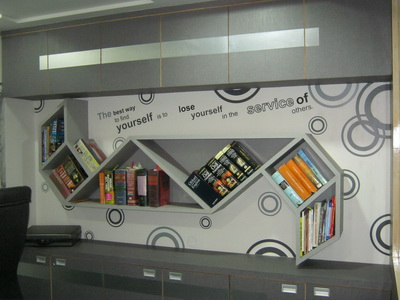 Commercial Interior Wall Graphic For Office