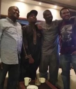 Photo: How Dangote reconciled Don Jazzy, Olamide 1
