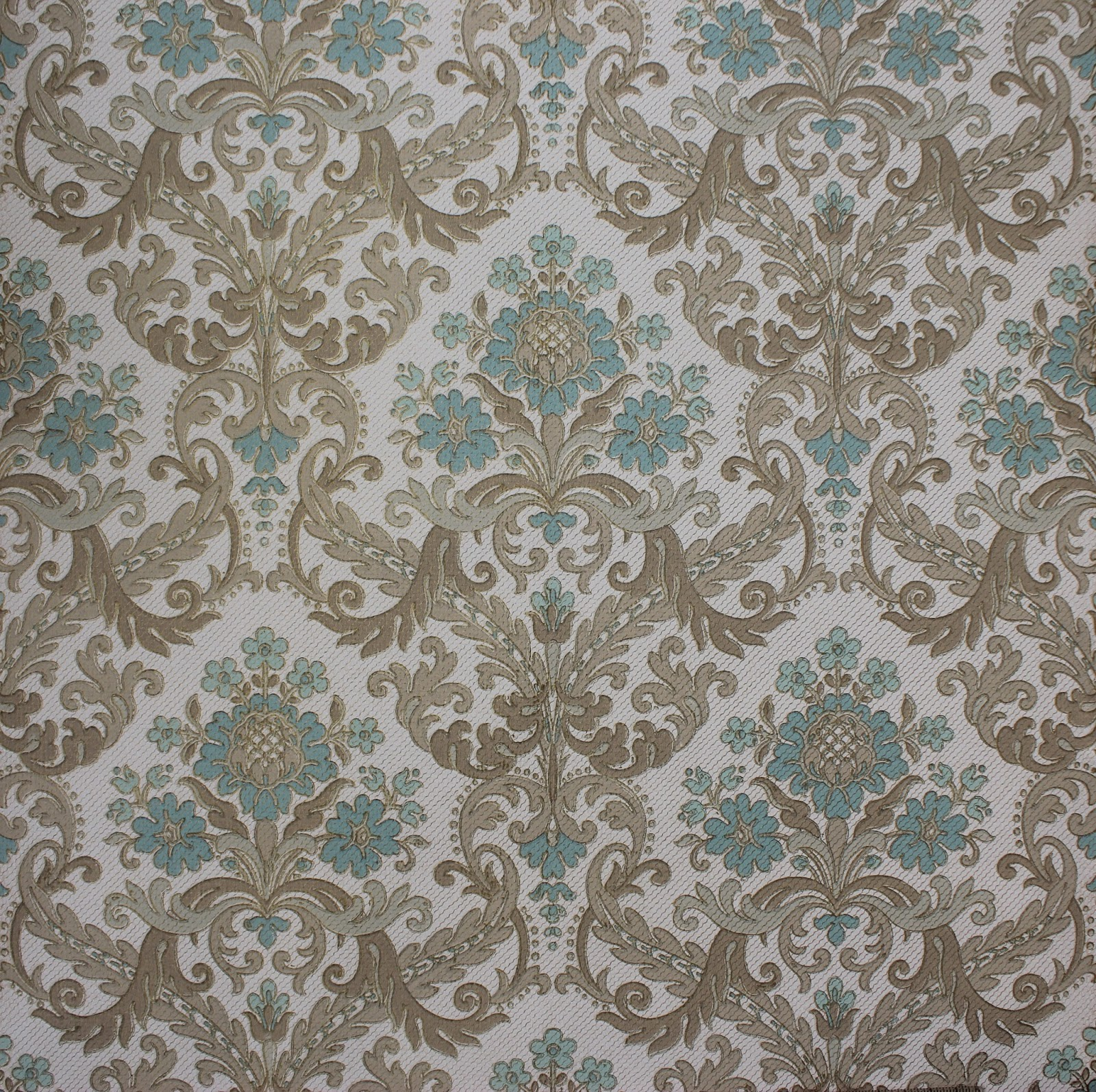 Rosie 39 s vintage wallpaper vintage damask wallpaper etsy for Vintage wallpaper