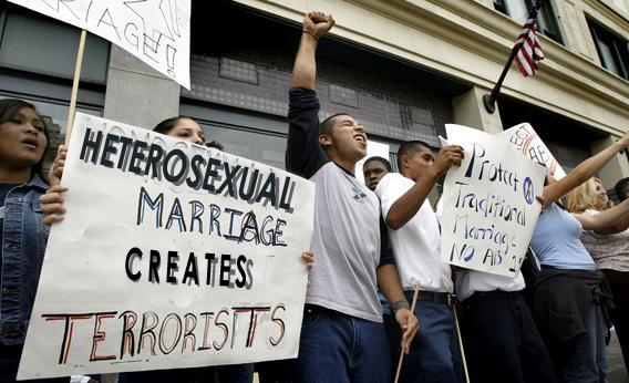 heterophobia, heterophobic, protest, photoshop