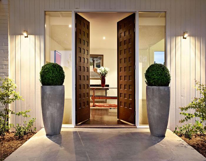 Beautiful Front Door Entrance