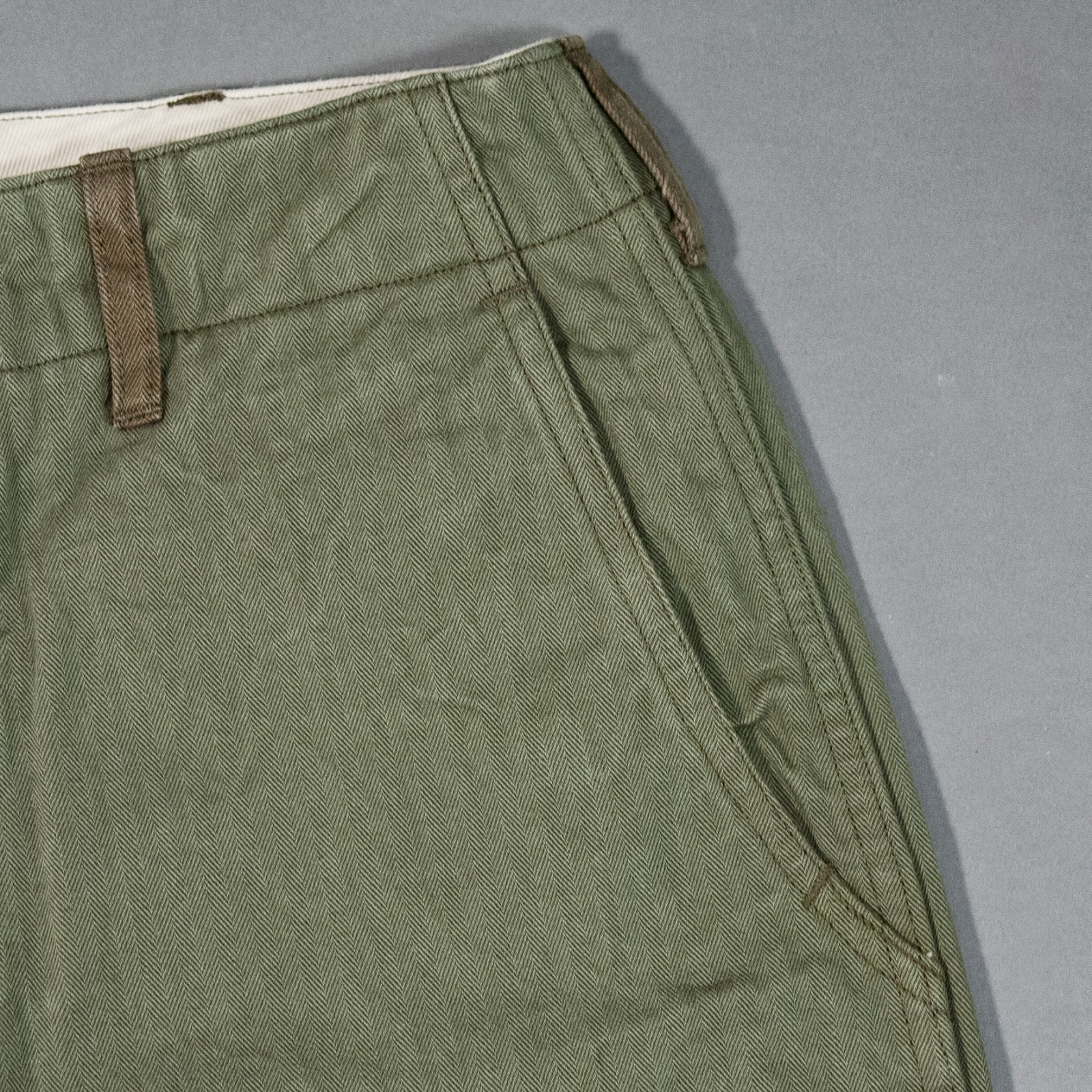 Buzz Rickson's Herringbone Twill 1942 Trousers
