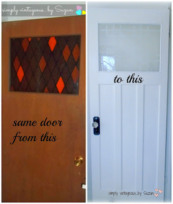 farmhouse door makeover