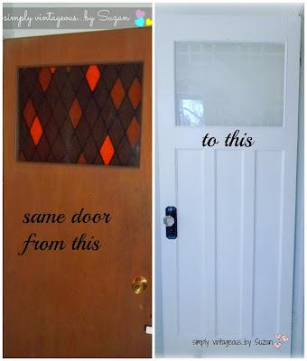 farmhouse door makeover
