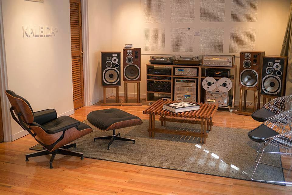 Man Cave Listening Room : Golden age of audio vintage hi fi setup