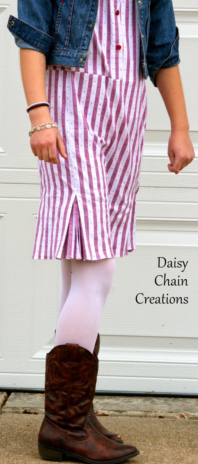 Daisy Chain Creations: Free For All Flip--Pleated Kick ...