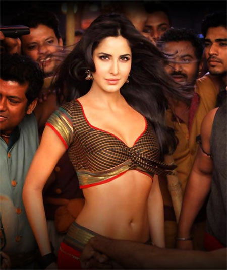 Katrina Kaif in Agneepath Wallpaper