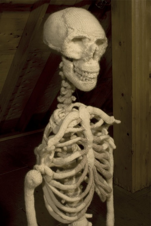 Skeleton Knitting Pattern : Knitting Project of the Day: A Whole Knit Skeleton!