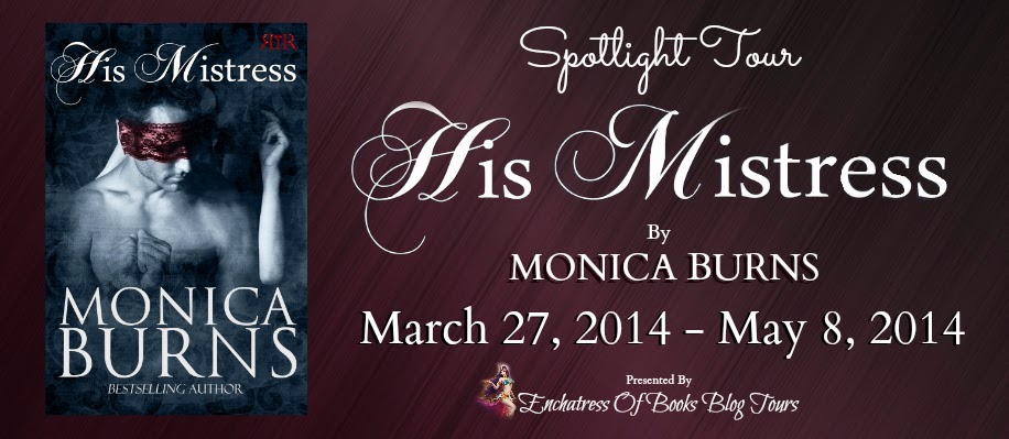 Spotlight Blog Tour: His Mistress By Monica Burns